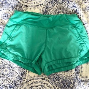 Mint Green Athleta Shorts